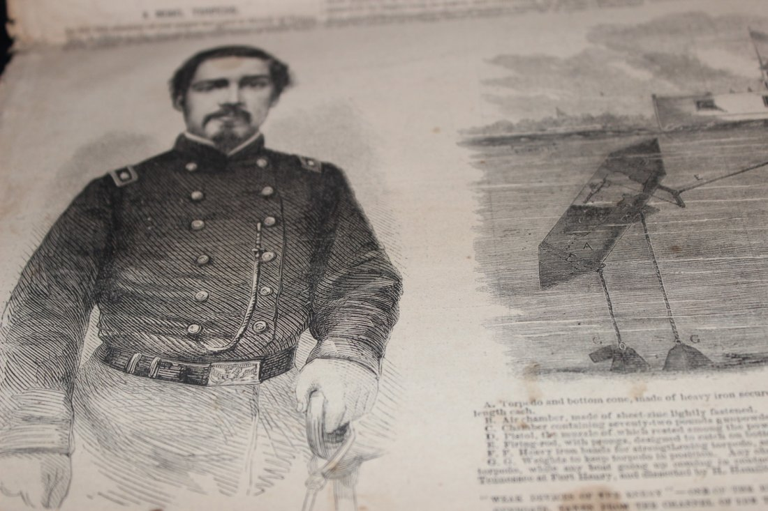 SUPER CIVIL WAR NEWSPAPER WITH GREAT STORIES AND PHOTOS - 5