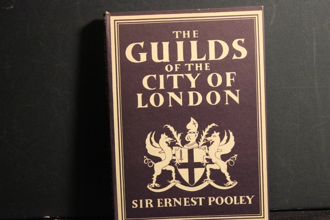 SUPER THE GUILDS OF THE CITY OF LONDON BY SIR ERNEST - 2