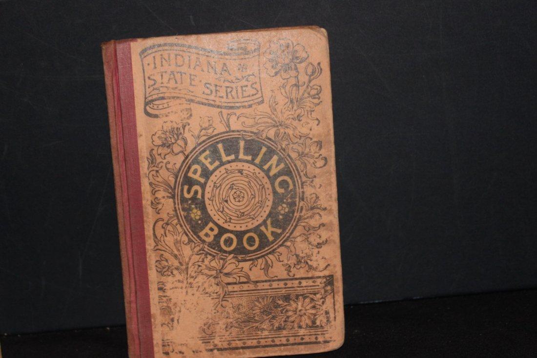 2 NICE OLD SCHOOLBOOKS COMPLETE ARITHMETIC 1870 - 3