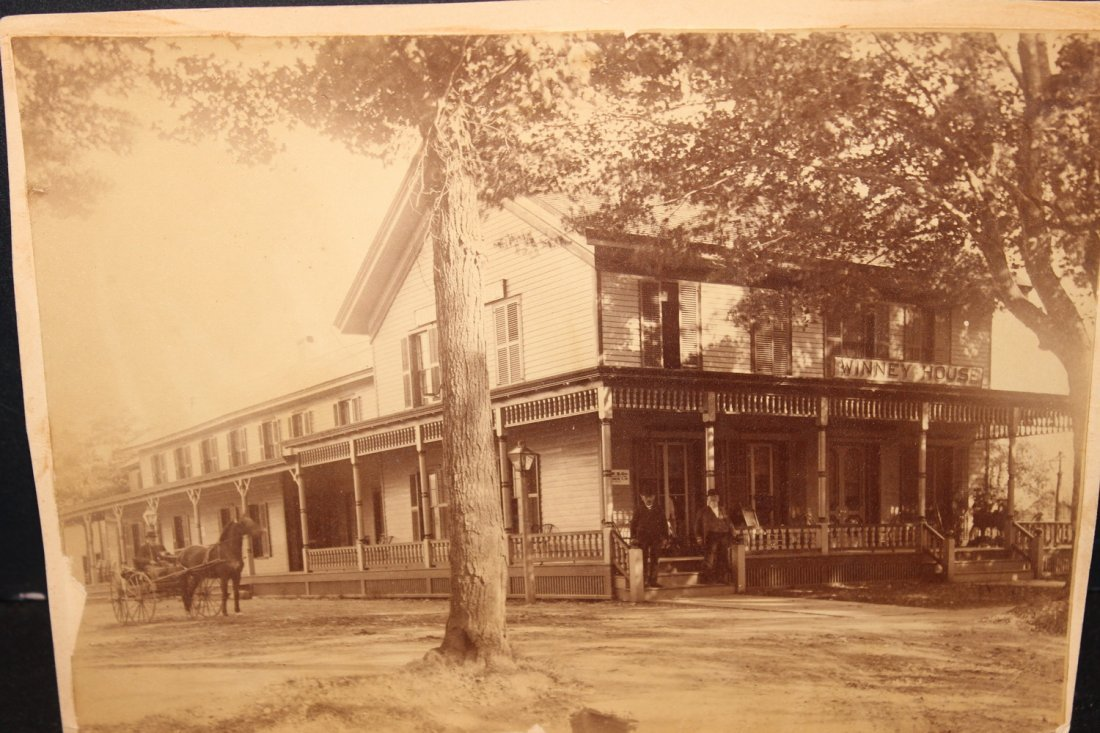 EARLY TURN-OF-THE-CENTURY PHOTO OF THE WHINNY HOUSE