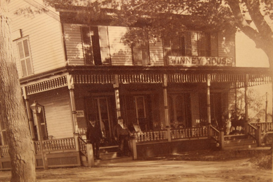 EARLY TURN-OF-THE-CENTURY PHOTO OF THE WHINNY HOUSE - 2
