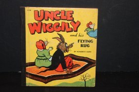 Excellent Children's Book Uncle Wiggly In His Flying