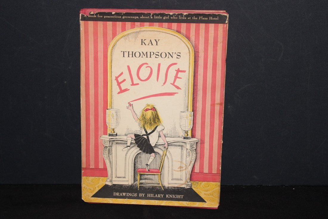 ELOISE BY KAY THOMPSON GOOD CHILDREN'S BOOK 65 PAGES