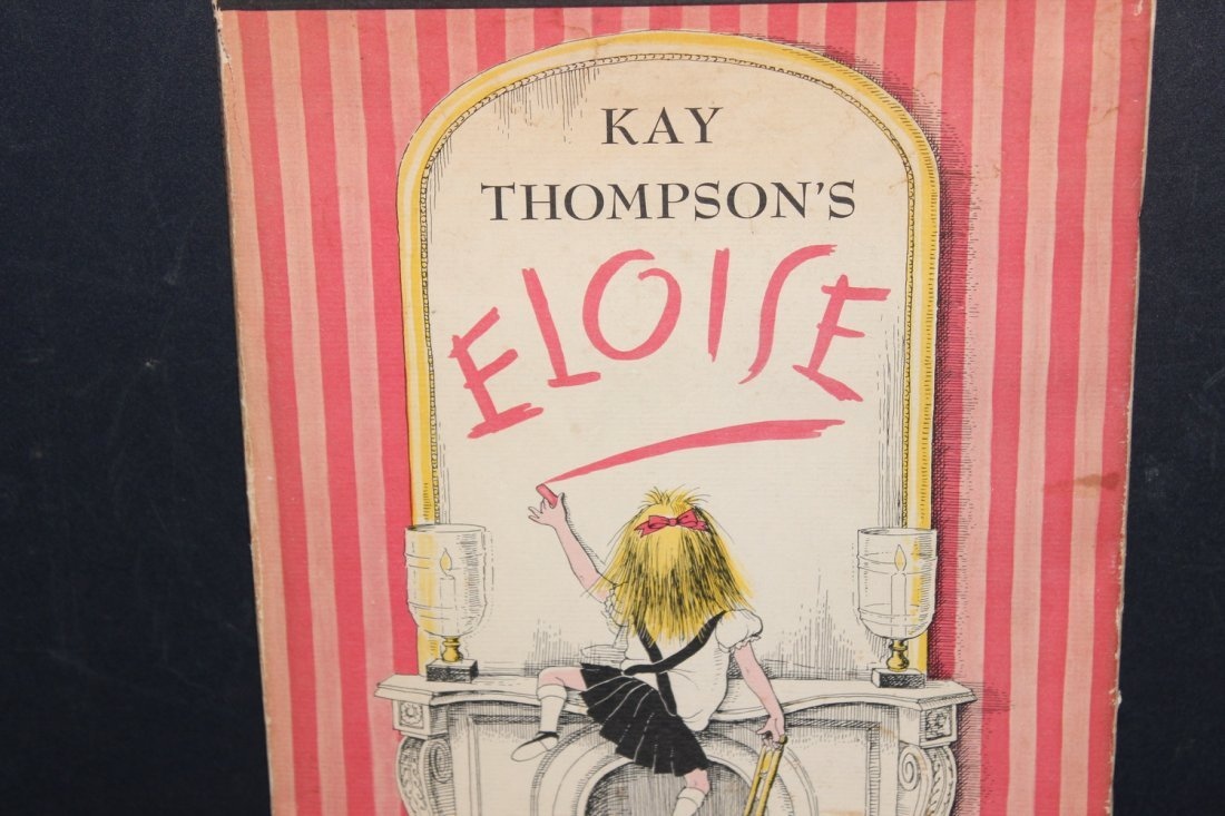 ELOISE BY KAY THOMPSON GOOD CHILDREN'S BOOK 65 PAGES - 2
