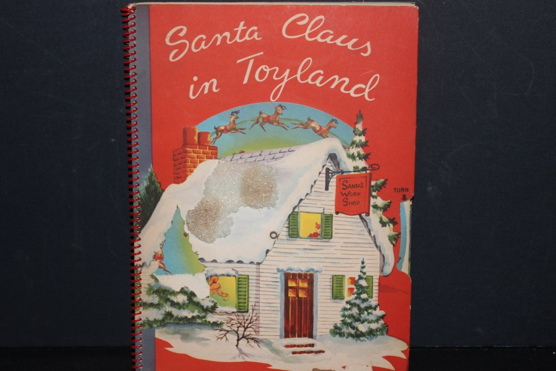 SANTA CLAUS IN TOYLAND 1951 BY HARRY DOEHLA CO. MINOR