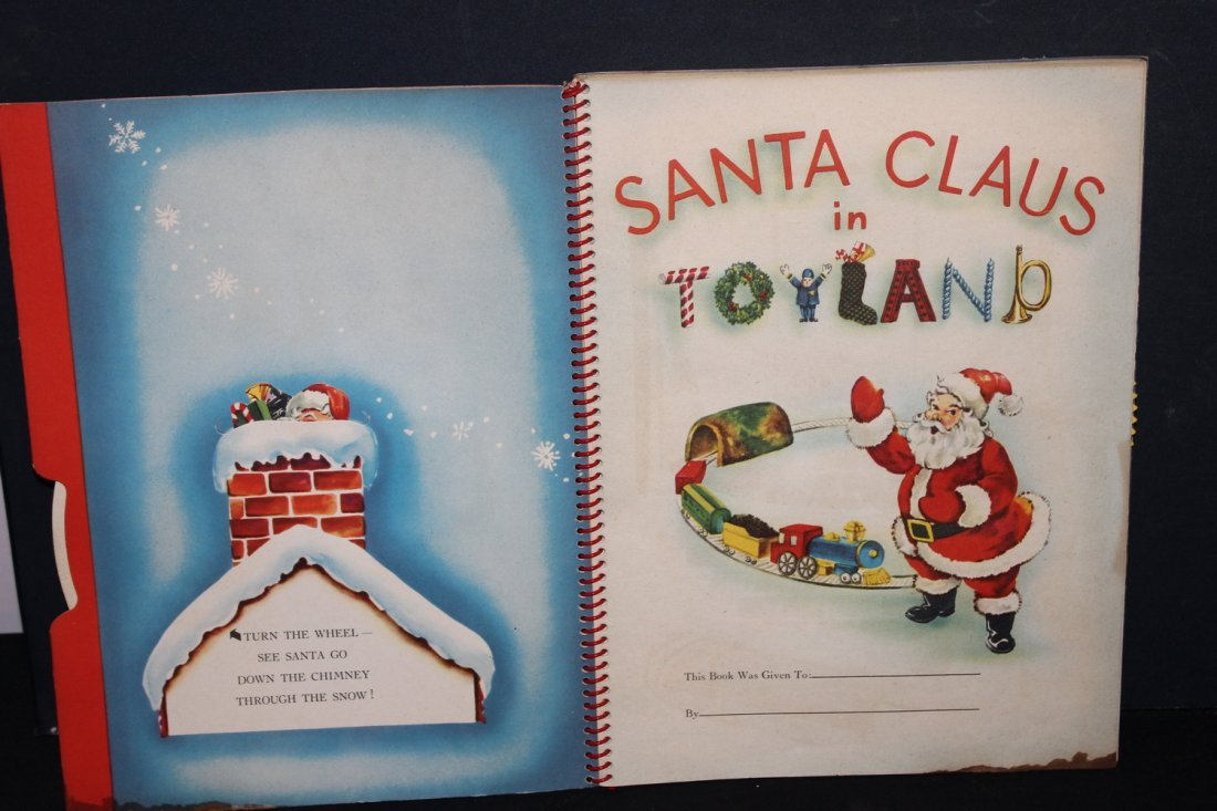 SANTA CLAUS IN TOYLAND 1951 BY HARRY DOEHLA CO. MINOR - 2