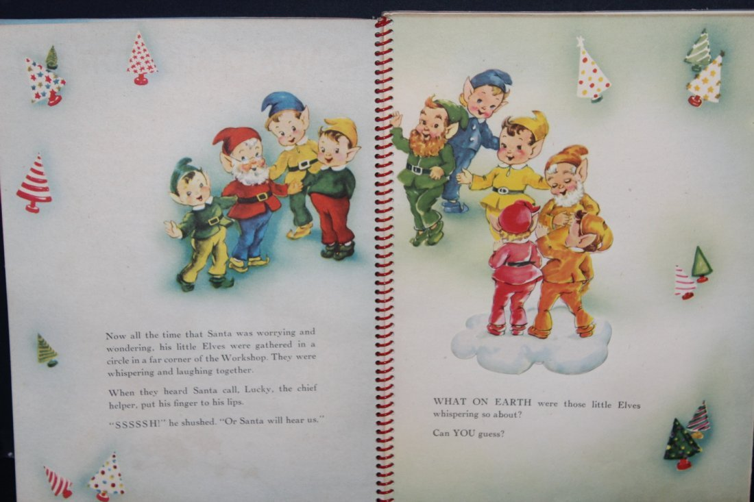 SANTA CLAUS IN TOYLAND 1951 BY HARRY DOEHLA CO. MINOR - 3