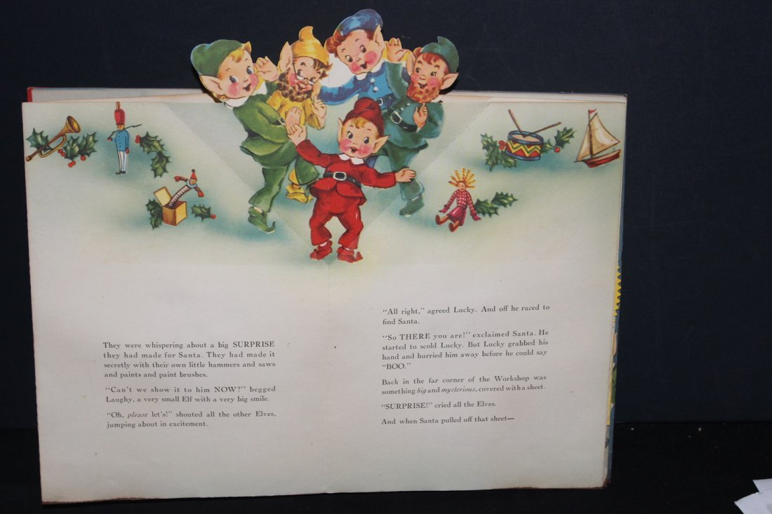 SANTA CLAUS IN TOYLAND 1951 BY HARRY DOEHLA CO. MINOR - 4