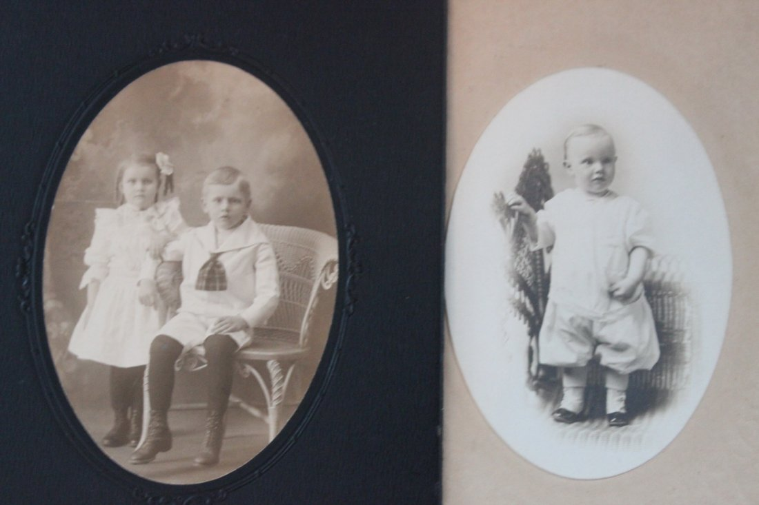 13 VERY NICE EARLY 1900S PHOTOS OF CHILDREN MOST LOCAL - 10