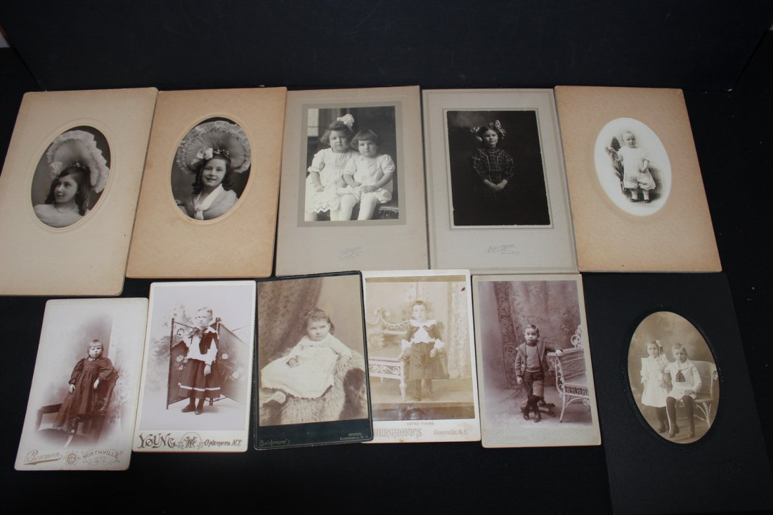 13 VERY NICE EARLY 1900S PHOTOS OF CHILDREN MOST LOCAL