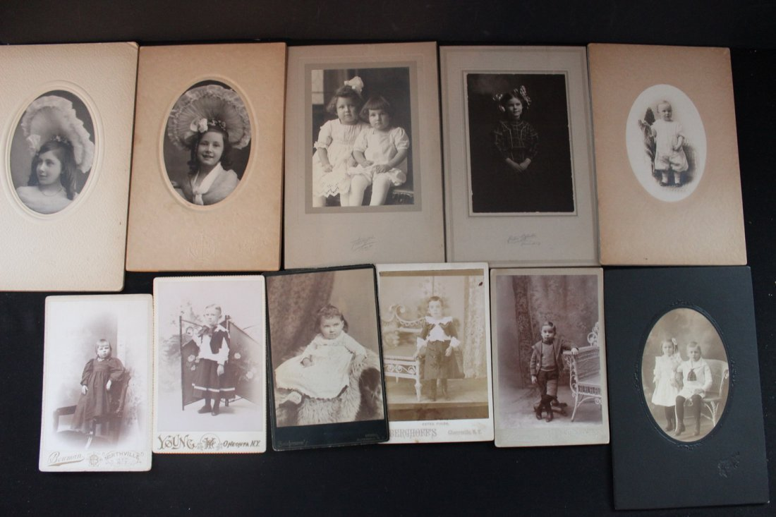 13 VERY NICE EARLY 1900S PHOTOS OF CHILDREN MOST LOCAL - 2