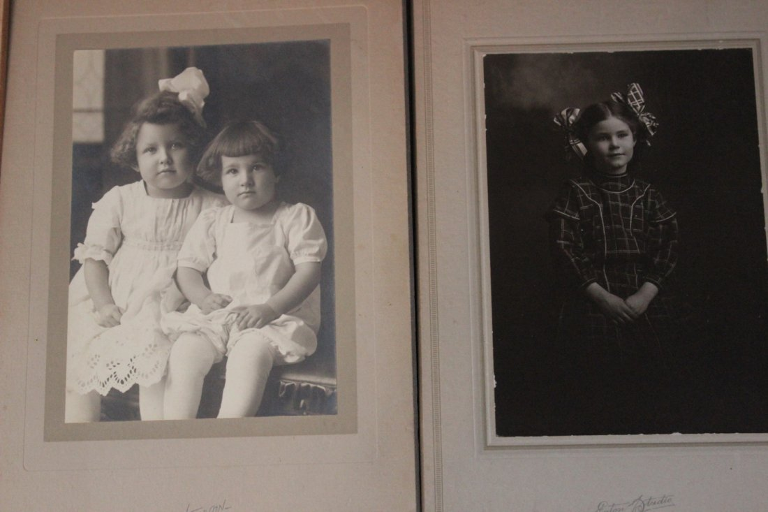 13 VERY NICE EARLY 1900S PHOTOS OF CHILDREN MOST LOCAL - 4