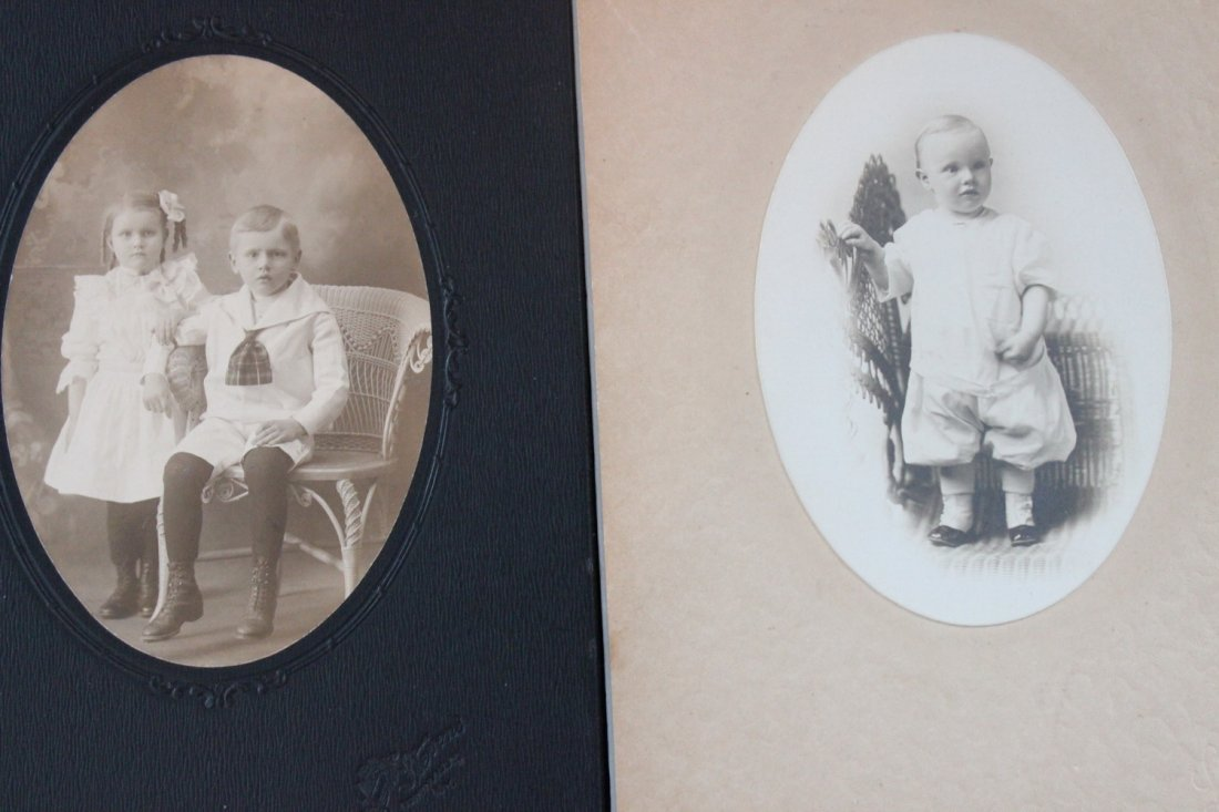 13 VERY NICE EARLY 1900S PHOTOS OF CHILDREN MOST LOCAL - 8