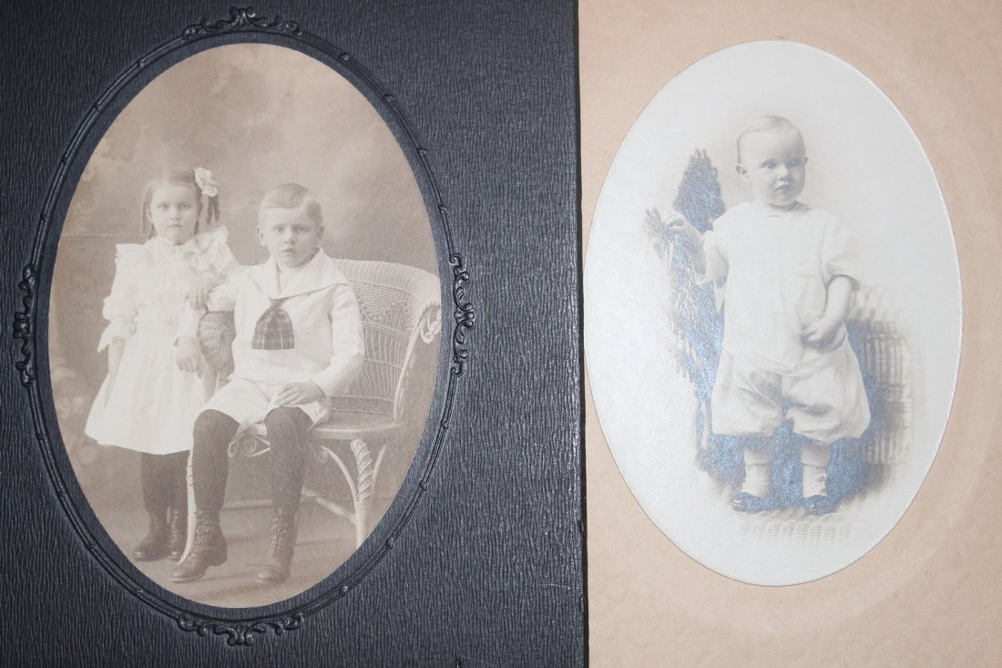 13 VERY NICE EARLY 1900S PHOTOS OF CHILDREN MOST LOCAL - 9