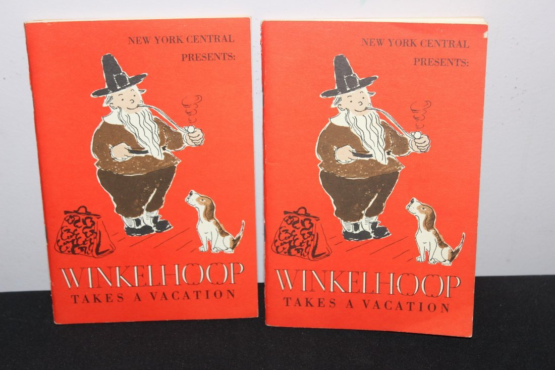 2 HARD TO FIND BOOKLETS - WINKEL HOOP TAKES A VACATION