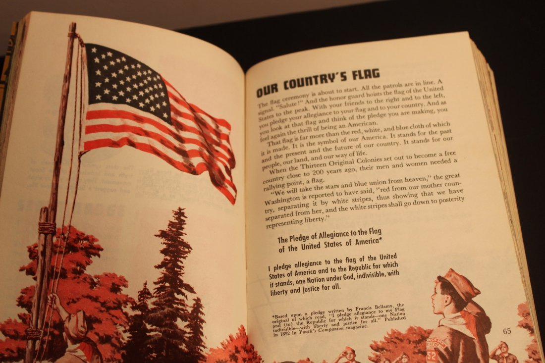 1965 ISSUE BOY SCOUTS HANDBOOK - 448 PGS. - SOFT COVER - 3