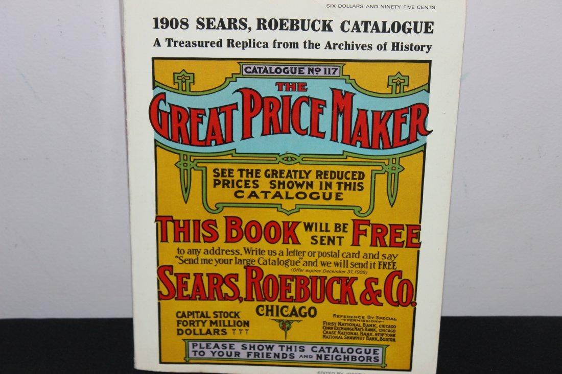 SUPER 1971 REPRINT OF 1908 SEARS ROEBUCK CATALOGUE -