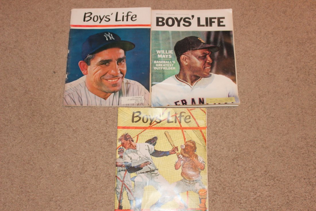 3 EXC. BOYS LIFE ISSUES - BASEBALL SPECIAL - OPENING
