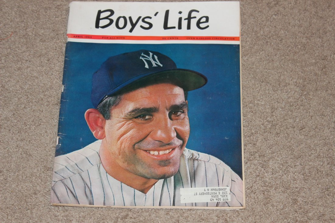 3 EXC. BOYS LIFE ISSUES - BASEBALL SPECIAL - OPENING - 2