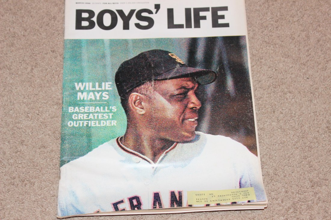 3 EXC. BOYS LIFE ISSUES - BASEBALL SPECIAL - OPENING - 3