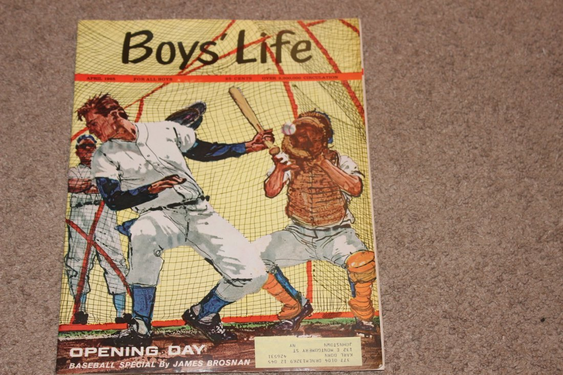 3 EXC. BOYS LIFE ISSUES - BASEBALL SPECIAL - OPENING - 4