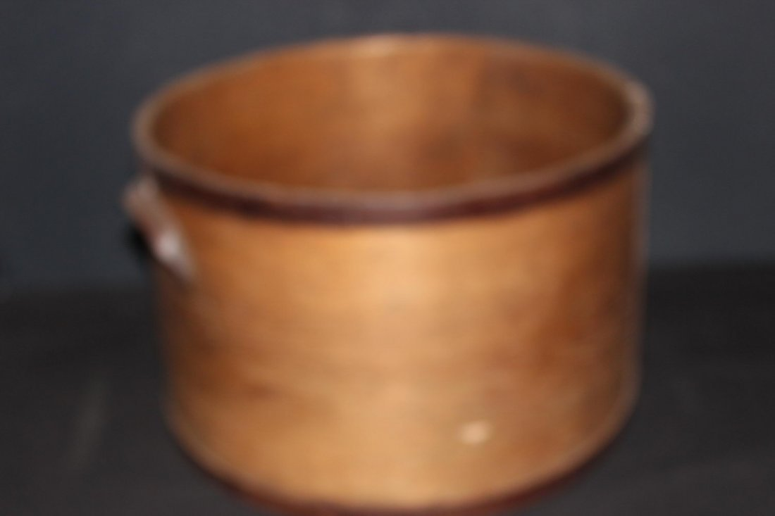 SUPER BENTWOOD DRY MEASURE WITH STEEL WRAPPING BAND AND