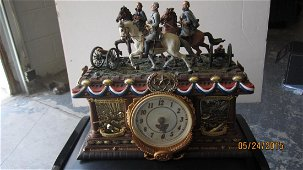 GREAT TIMELESS GLORY COLLECTORS CLOCK - CONFEDERATE