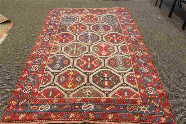 SUPER FIELD TO THIS GREAT ORIENTAL RUG - FIELD SHOWS NO