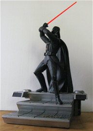 STAR WARS DARTH VADER PAINTED STATUE CINEMACAST LIMITED