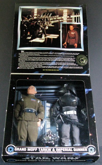 STAR WARS COLLECTOR SERIES GRAND MOFF TARKIN & IMPERIAL