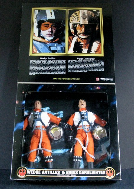 STAR WARS COLLECTOR SERIES REBEL PILOT DOUBLE