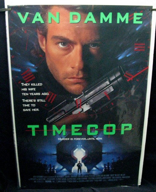 "TIMECOP - 1994 One Sheet Movie Poster - 27""x 40"" -"