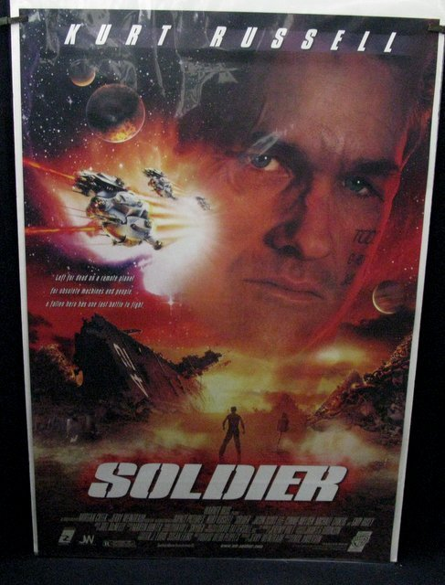 "SOLDIER - 1998 One Sheet Movie Poster - 27""x 40"" - Near"