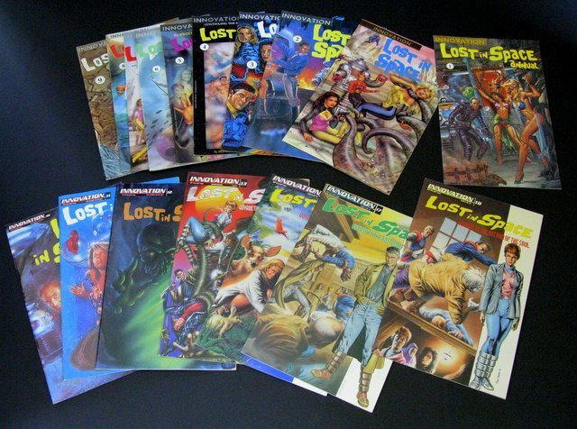 CLASSIC LOST IN SPACE COMIC BOOK LOT Innovation Comics,