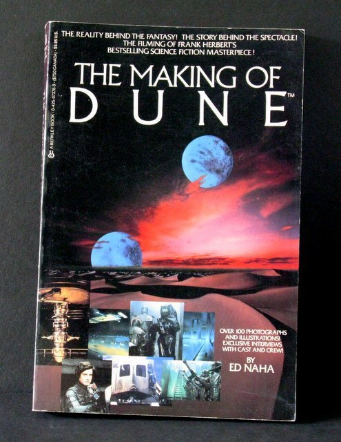 THE MAKING OF DUNE DELUXE TRADE PAPERBACK BOOK