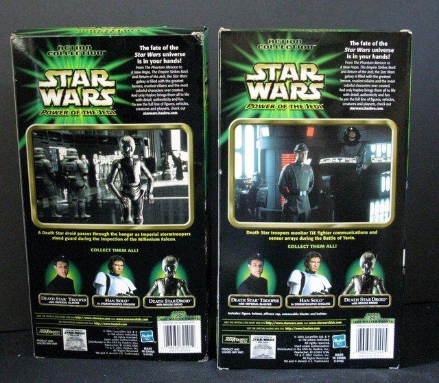 STAR WARS POWER OF THE JEDI DEATH STAR TROOPER & DROID - 2