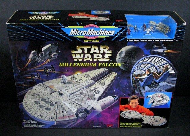 STAR WARS - MILLENNIUM FALCON MICROMACHINES PLAYSET