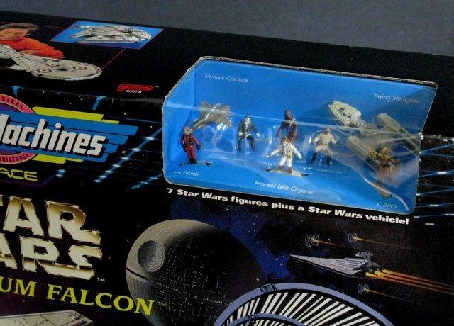 STAR WARS - MILLENNIUM FALCON MICROMACHINES PLAYSET - 2