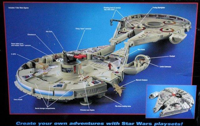 STAR WARS - MILLENNIUM FALCON MICROMACHINES PLAYSET - 3