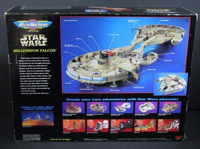 STAR WARS - MILLENNIUM FALCON MICROMACHINES PLAYSET - 4