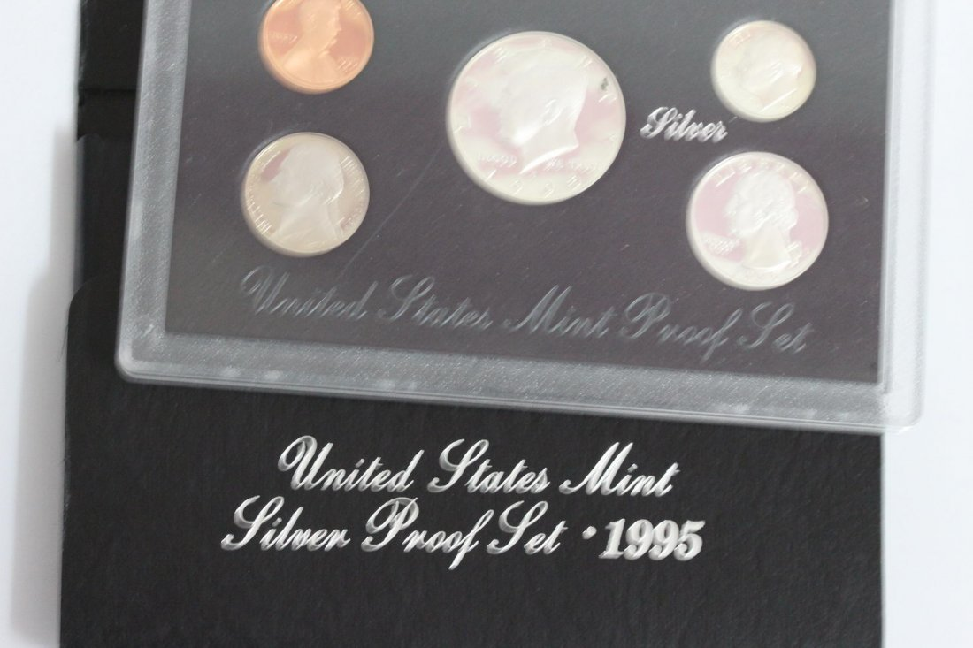 1995-S UNITED STATES MINT SILVER PROOF SET 90% SILVER
