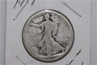 1917 STANDING LIBERTY HALF-DOLLAR GOOD