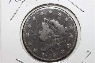 1829 LARGE CENT VERY FINE