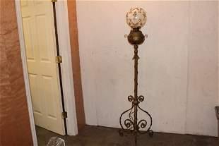 BEAUTIFUL & ORNATE TURN OF THE CENTURY PIANO LAMP - HAS