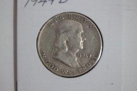 1949d Franklin Half-dollar Fine