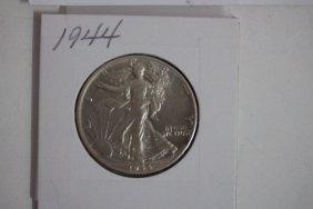 1944 Walking Liberty Half-dollar Very Fine Light Toning