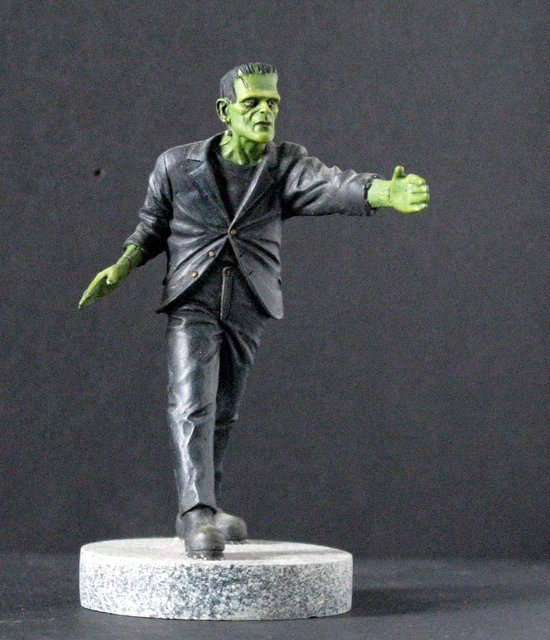 KARLOFF FRANKENSTEIN MICRO MONSTER - GEOmetric Design,