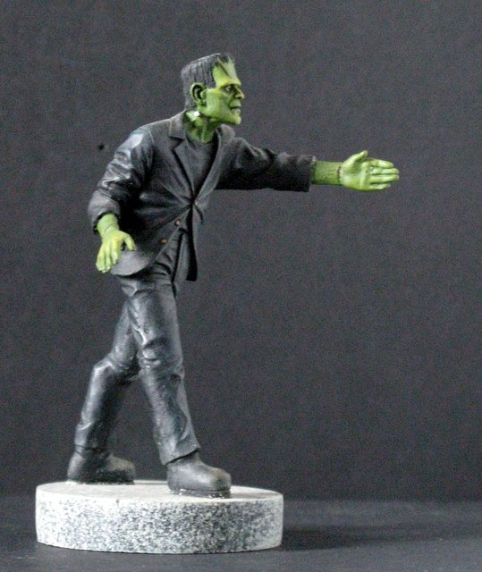 KARLOFF FRANKENSTEIN MICRO MONSTER - GEOmetric Design, - 2