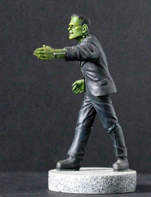 KARLOFF FRANKENSTEIN MICRO MONSTER - GEOmetric Design, - 3