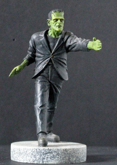 KARLOFF FRANKENSTEIN MICRO MONSTER - GEOmetric Design, - 4